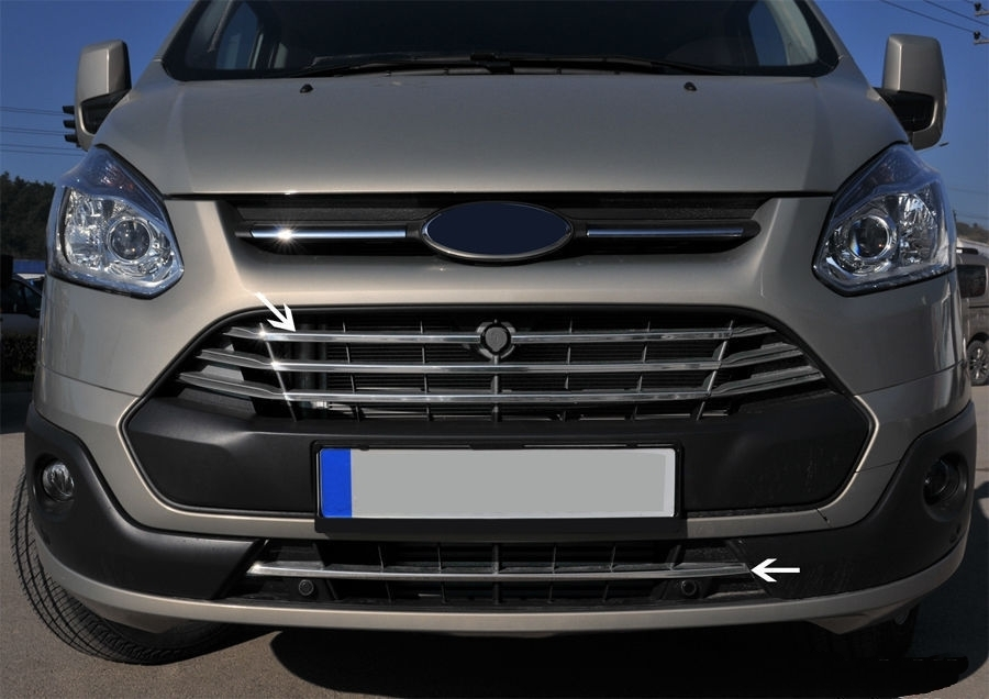 Ford Transit Custom Front Grille Trims Tuning Parts For