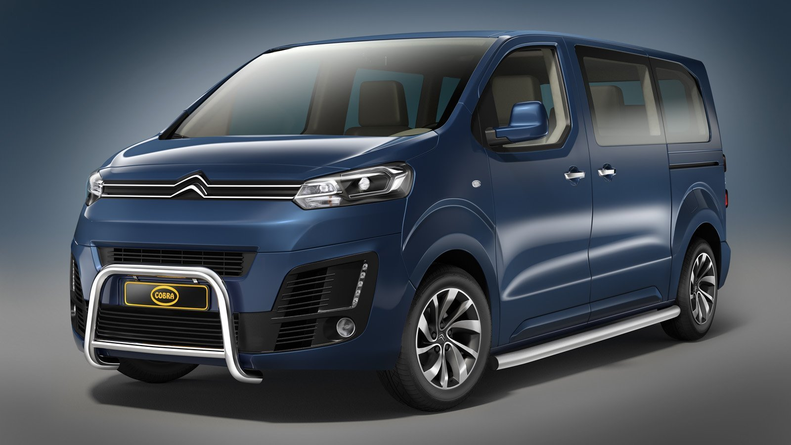 Citroen Jumpy Safety Side Bars Tuning Parts To New Jumpy