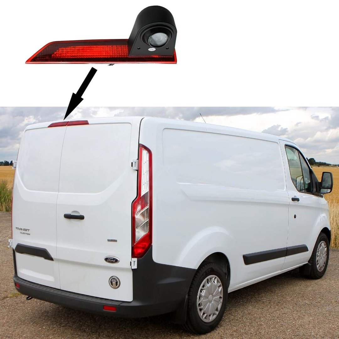 ford transit custom rear view camera 2012 2016 4 custom. Black Bedroom Furniture Sets. Home Design Ideas