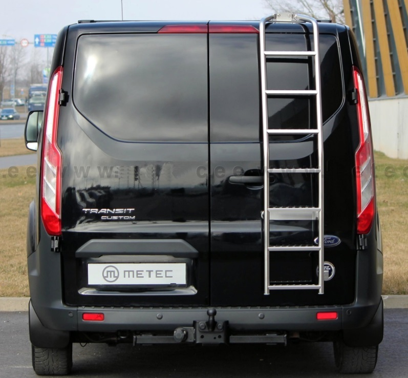 ford transit custom ladder to rear ford custom tuning. Black Bedroom Furniture Sets. Home Design Ideas