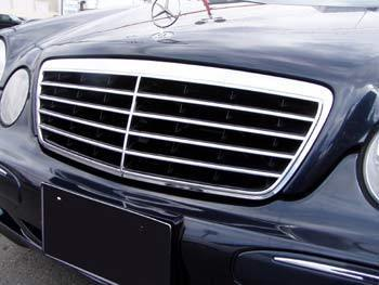 w210 avantgarde front grille 00 02 tuning parts to m b. Black Bedroom Furniture Sets. Home Design Ideas
