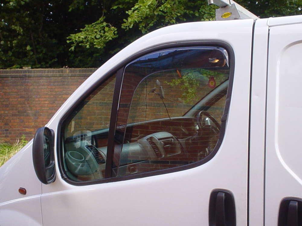 Wonderbaarlijk Opel Vivaro Side window deflectors -Tuning parts for vans- PX-66
