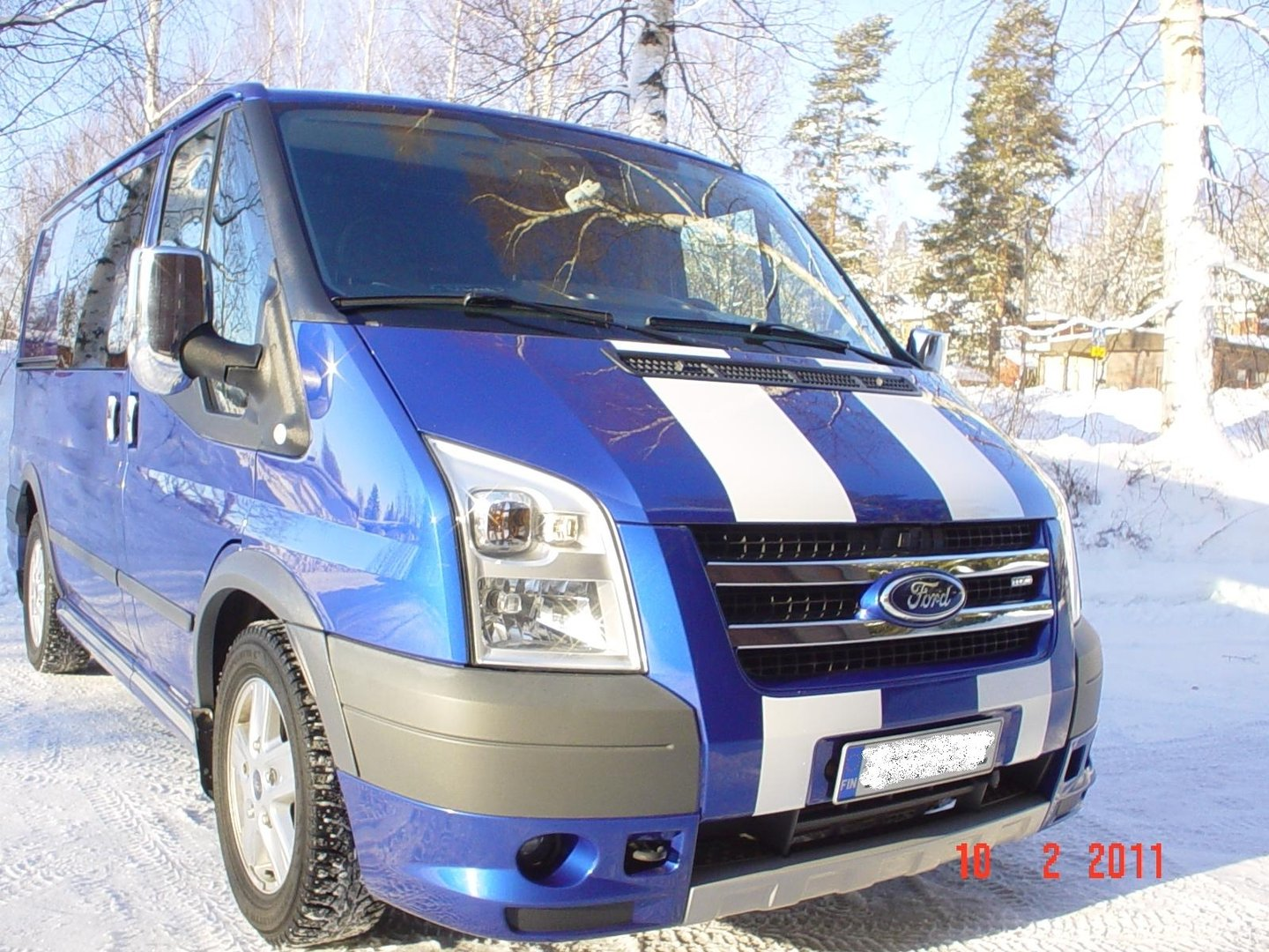 Ford Transit Front Grille Trims Tuning Parts For Vans Km