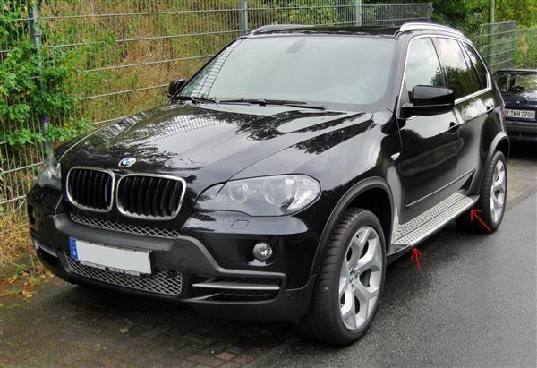 bmw x5 e70 side steps tuning parts for bmw