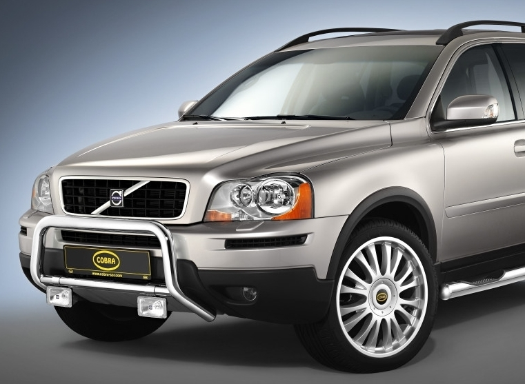 volvo xc90 eu front guard cobra tuning parts to volvo. Black Bedroom Furniture Sets. Home Design Ideas