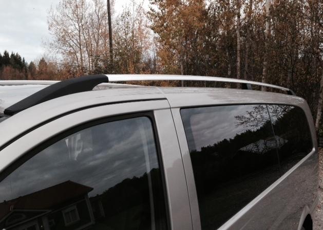 M B Vito W447 Roof Rails Km Parts Specialist For Van