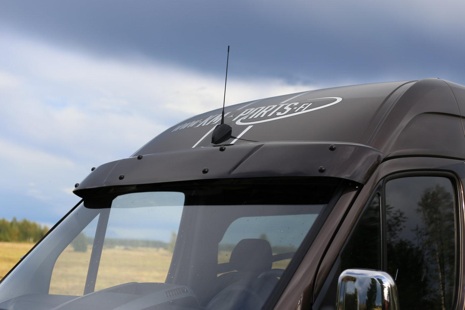 Sun visor for external installation car sun visor tuning TRANSIT 2014 VAN