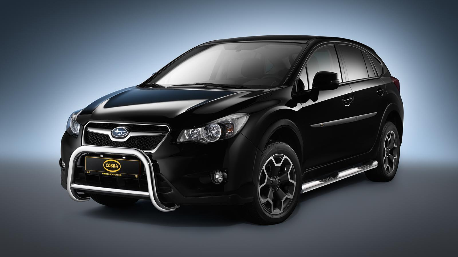 subaru xv front guard tuning parts to subaru. Black Bedroom Furniture Sets. Home Design Ideas