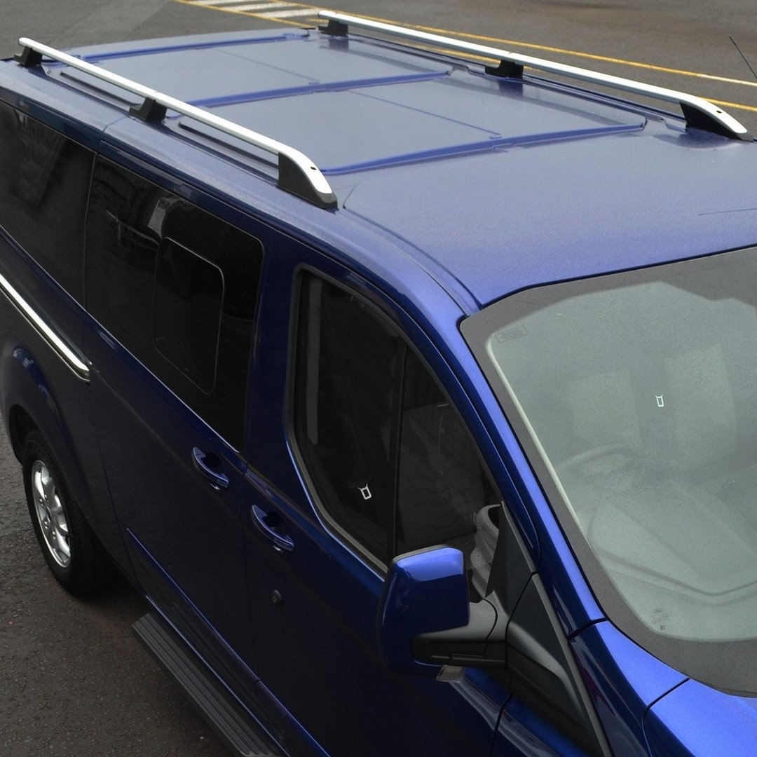 Ford Transit Custom Roof Rails Long Tuning Parts For Ford