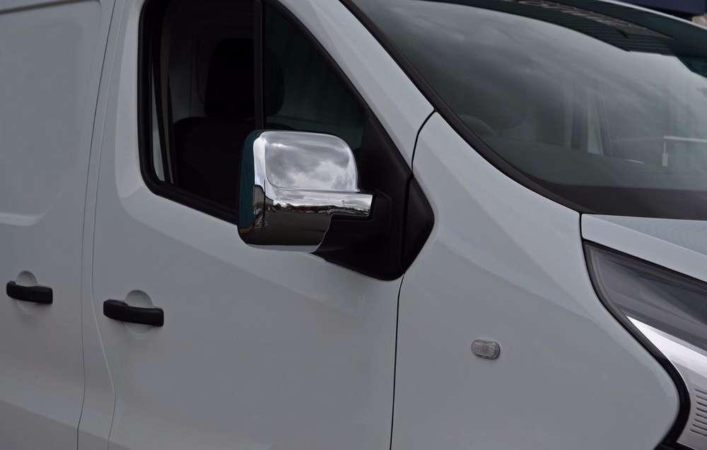 2001-2014 Chrome Wing Mirror Cover for Trafic//Vivaro//Primastar Both Sides
