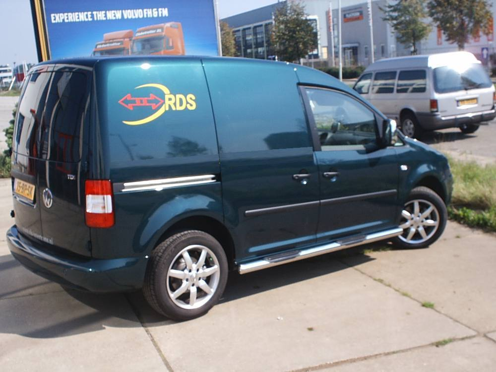 vw caddy maxi side bars omtec tuning parts for caddy. Black Bedroom Furniture Sets. Home Design Ideas