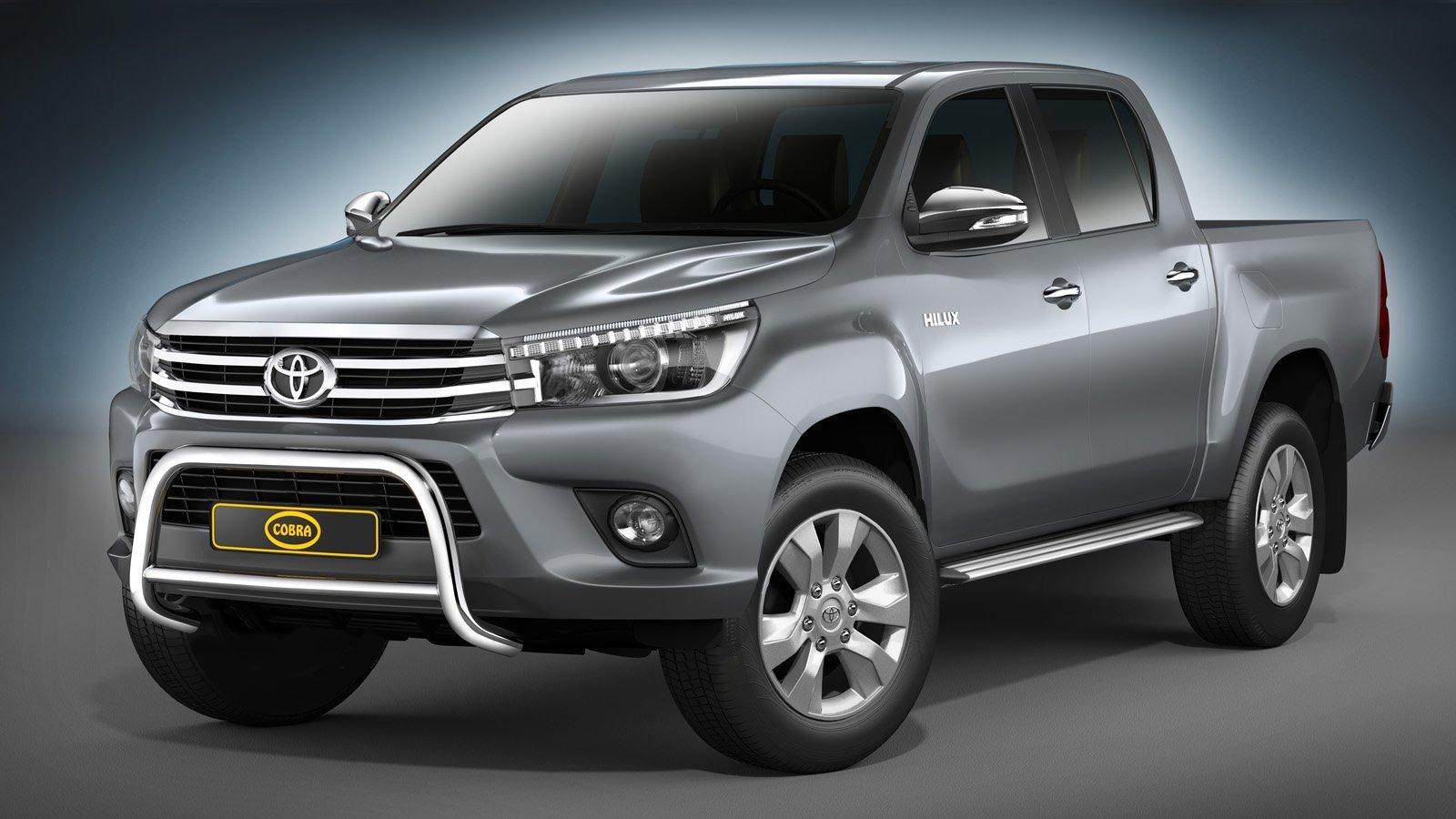 Toyota Hilux Astinlaudat Double Cap 2016-> - Hilux astinlaudat