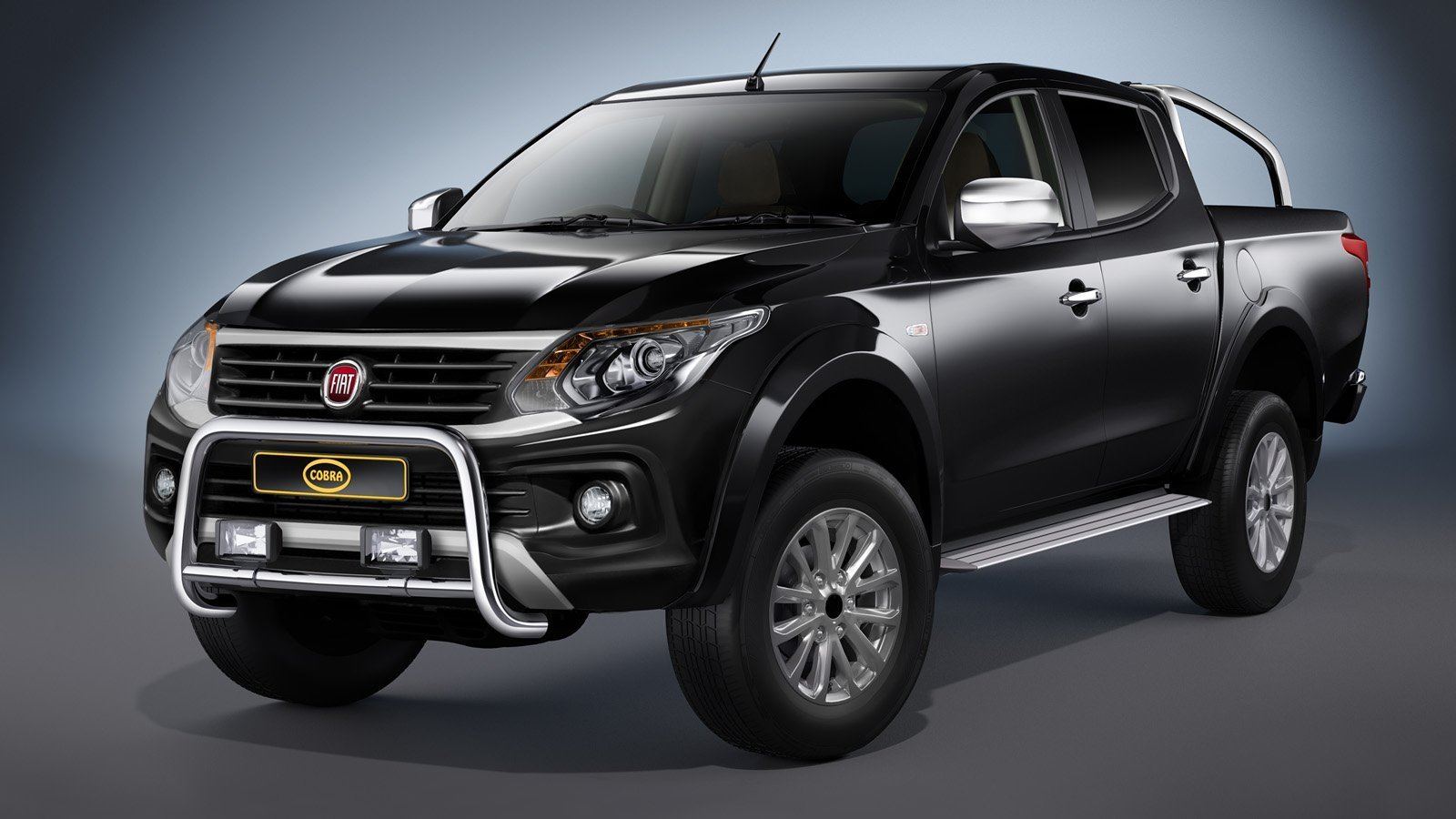 fiat fullback eu front guard 2016 tuning parts to fullback. Black Bedroom Furniture Sets. Home Design Ideas