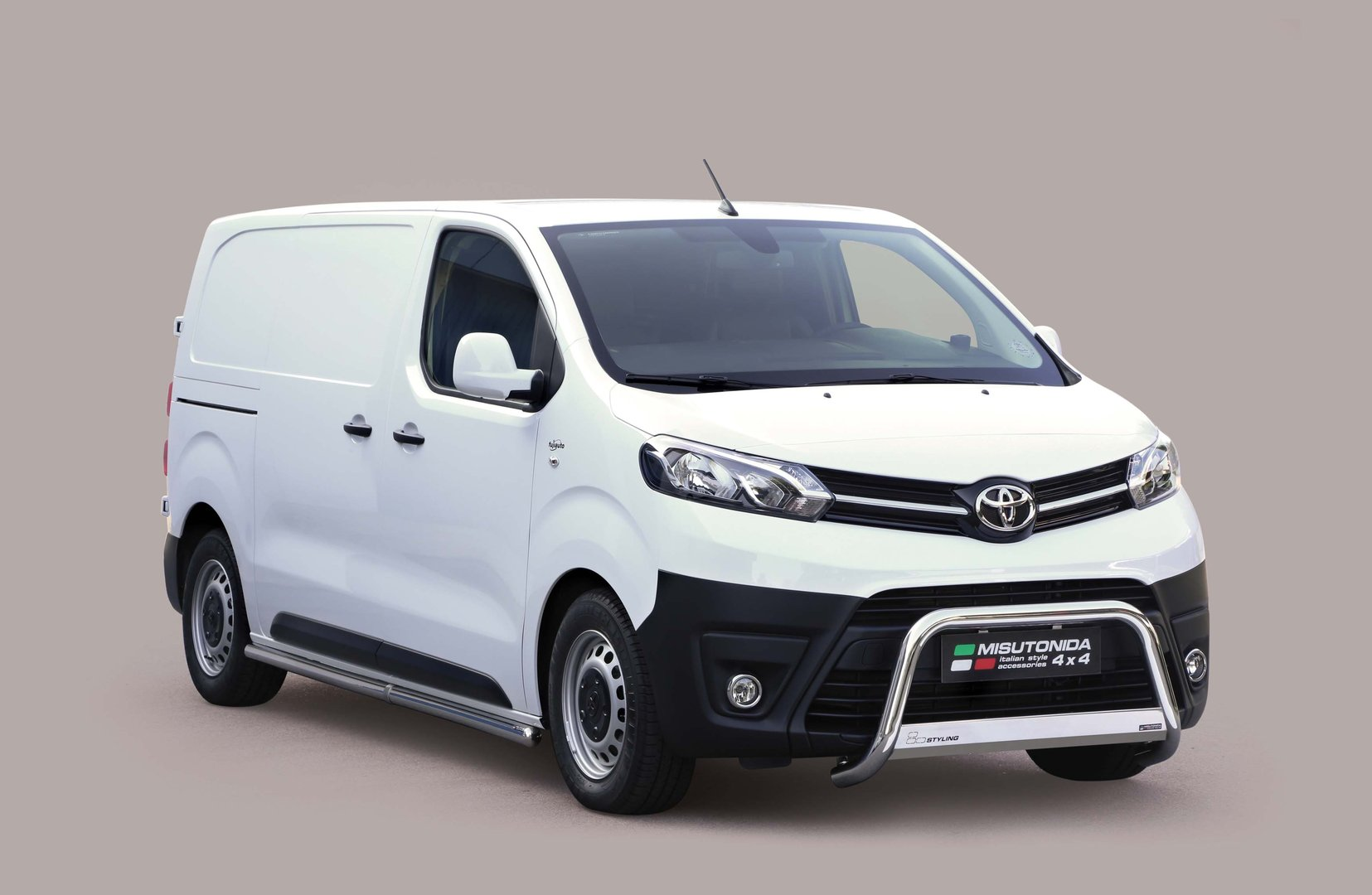 Toyota toyota proace : Toyota Proace Side bars 2016-> - Tuning parts to New Proace -