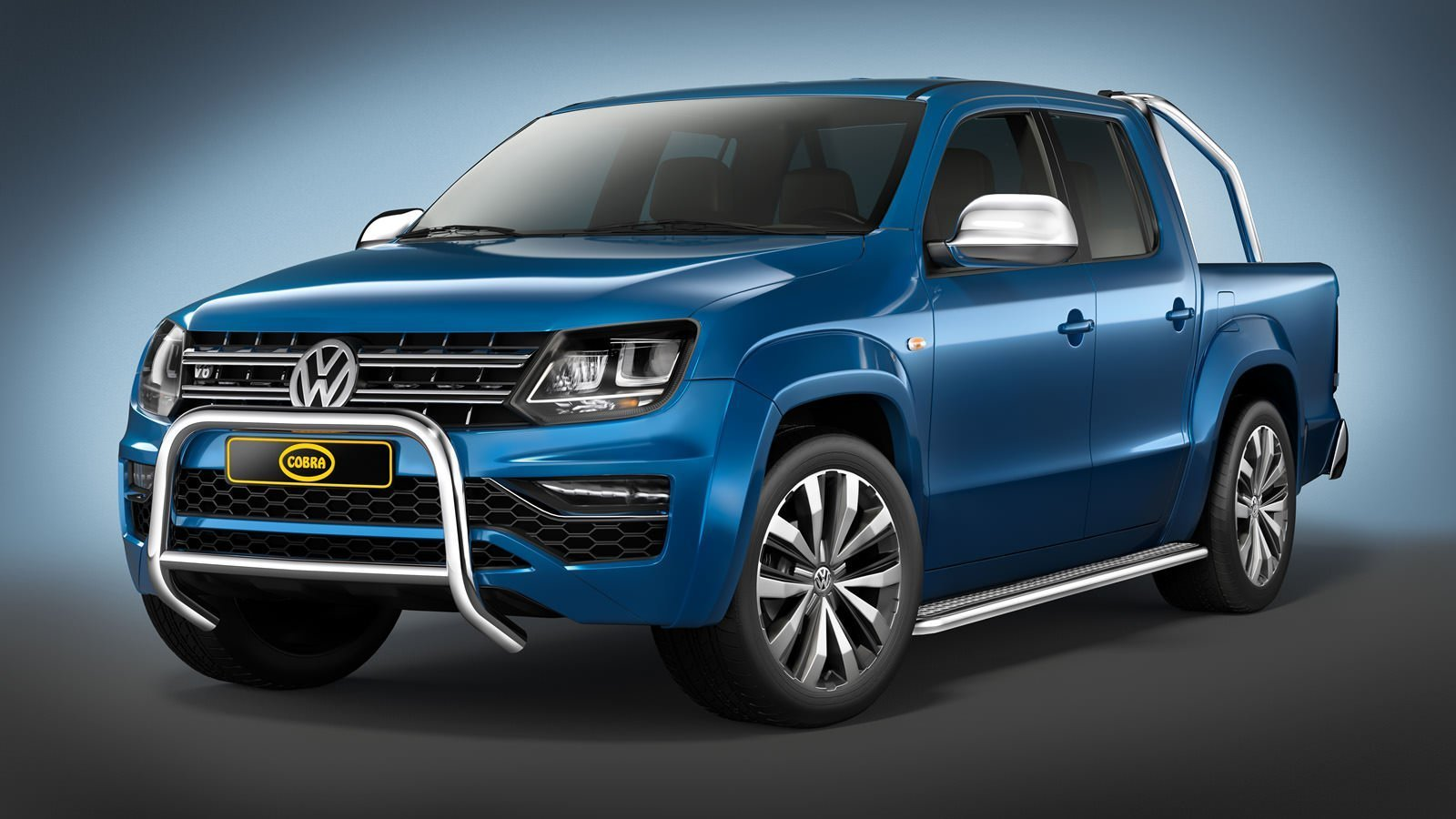 volkswagen amarok eu front guard 2016 cobra amarok. Black Bedroom Furniture Sets. Home Design Ideas