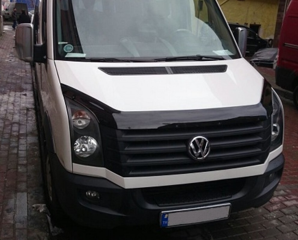 vw crafter hood bonnet deflectors crafter tuning parts. Black Bedroom Furniture Sets. Home Design Ideas