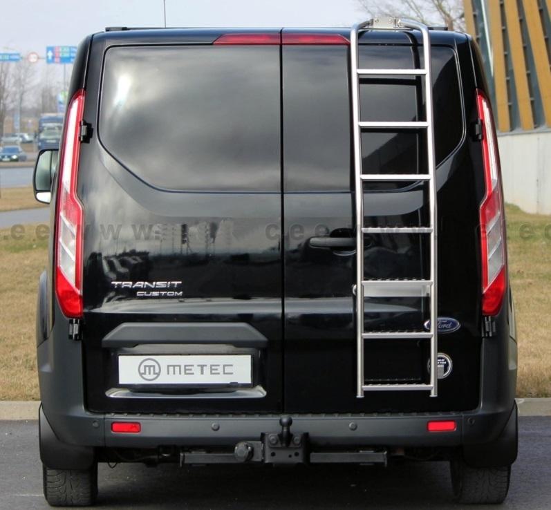 ford transit custom ladder to rear ford custom tuning. Black Bedroom Furniture Sets. Home Design Ideas