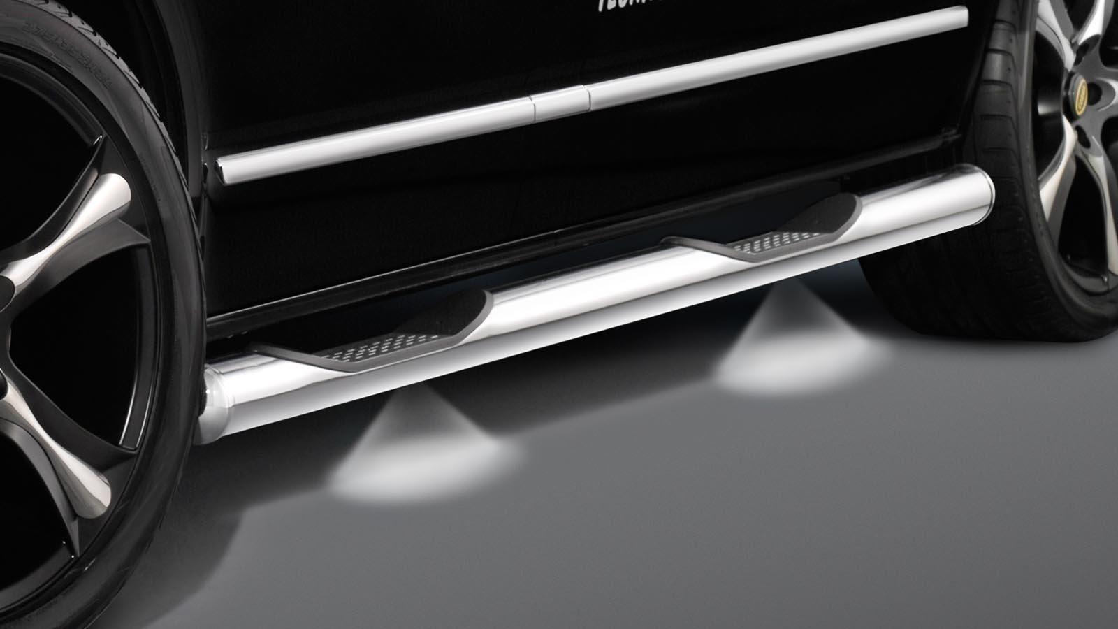 Vw Transporter T6 Side Bars With Led Lighting T6 Side