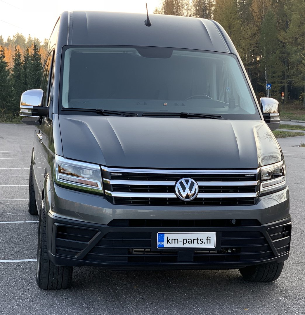 vw crafter 2017 chrome front grille new crafter tuning. Black Bedroom Furniture Sets. Home Design Ideas